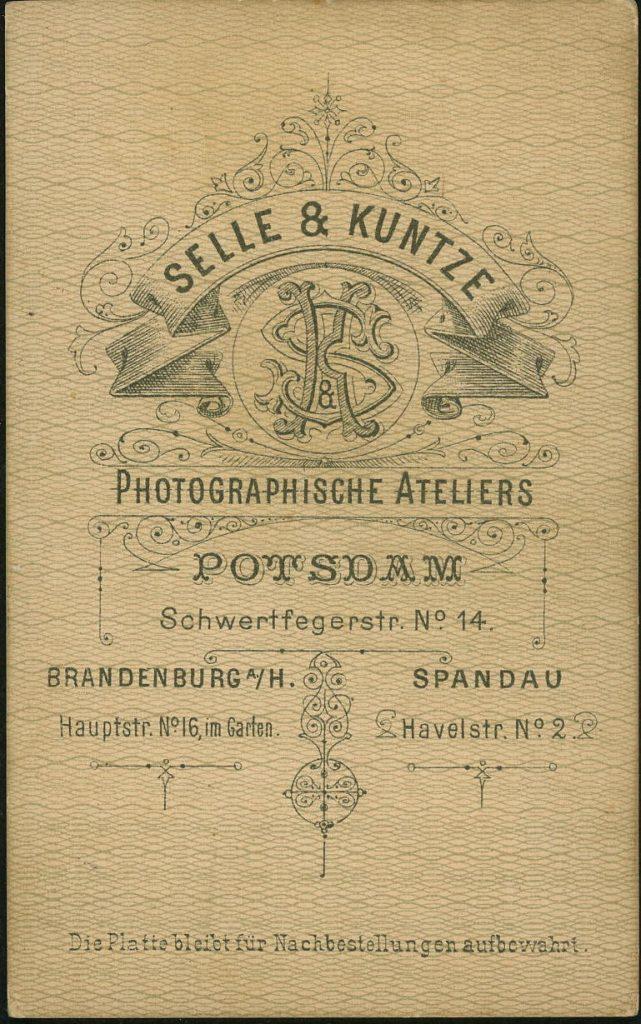 Seel - Kuntze - Potsdam - Brandenburg - Spandau