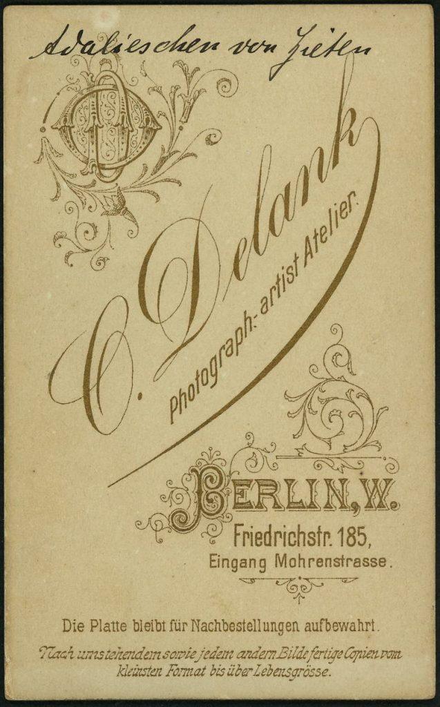 O. Delank - Berlin