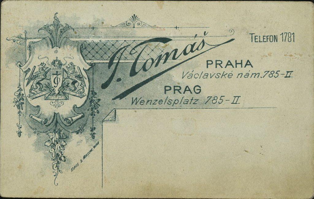 J. Tomáš - Praha - Prag