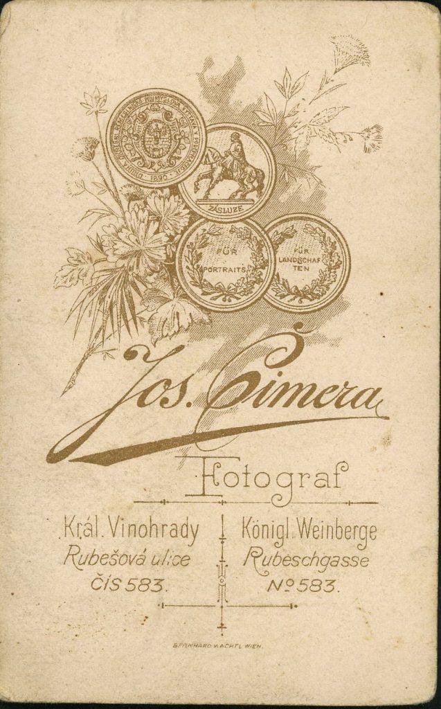 Jos. Cimera - Weinberge - Král Vinohrady