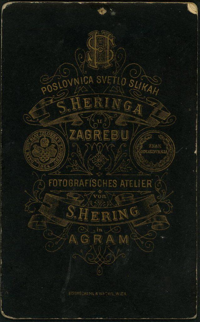S. Heringa - S. Hering - Zagreb - Agram