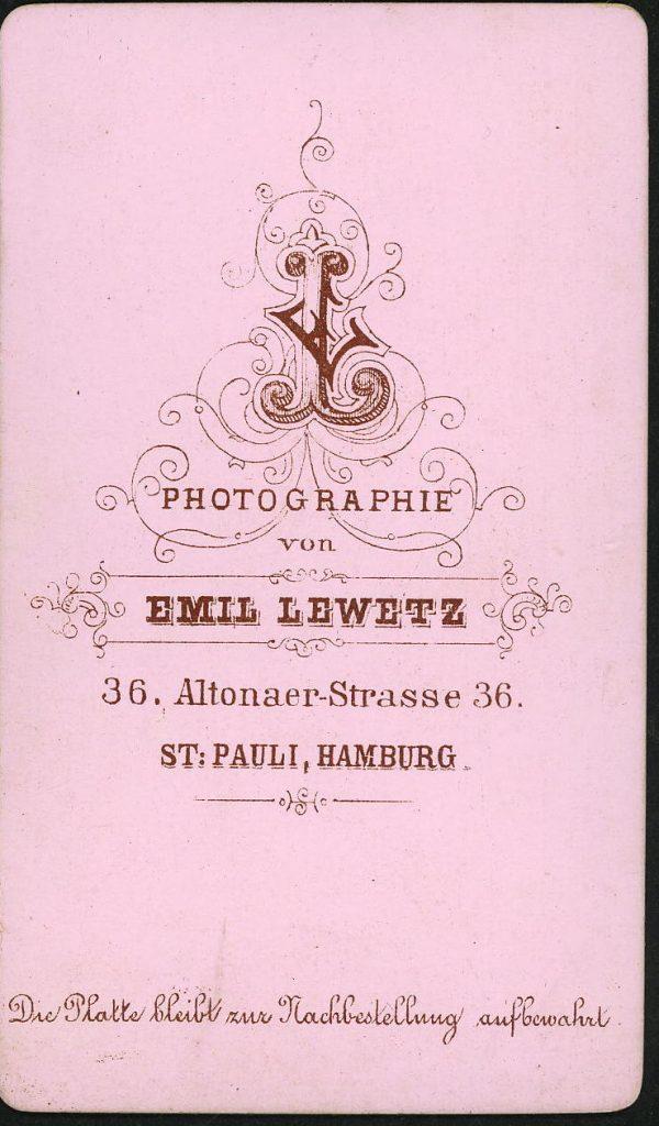 Emil Lewetz - St Pauli - Hamburg