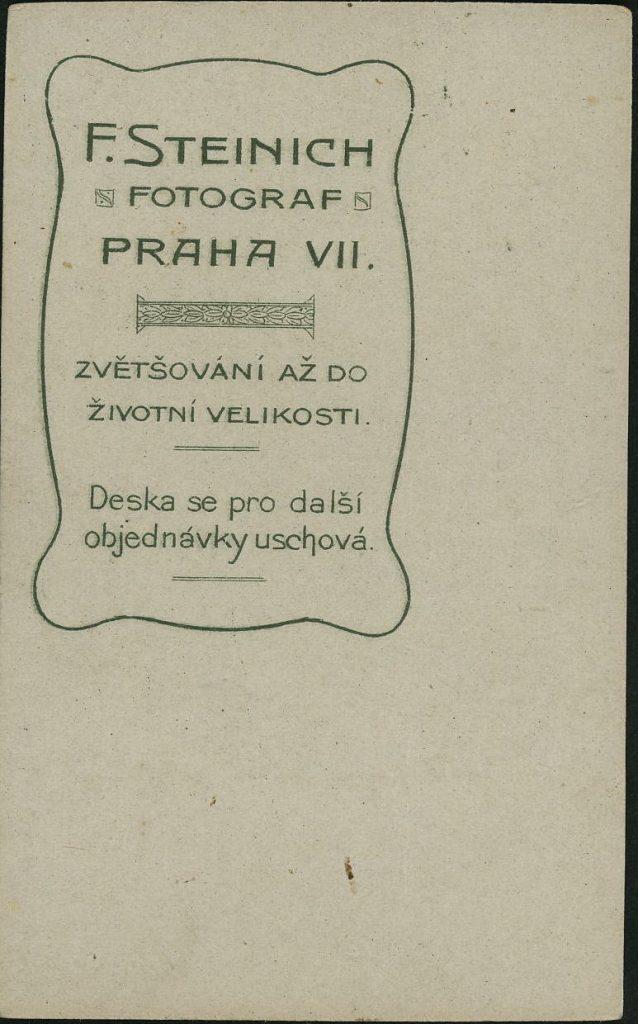 F. Steinich - Praha