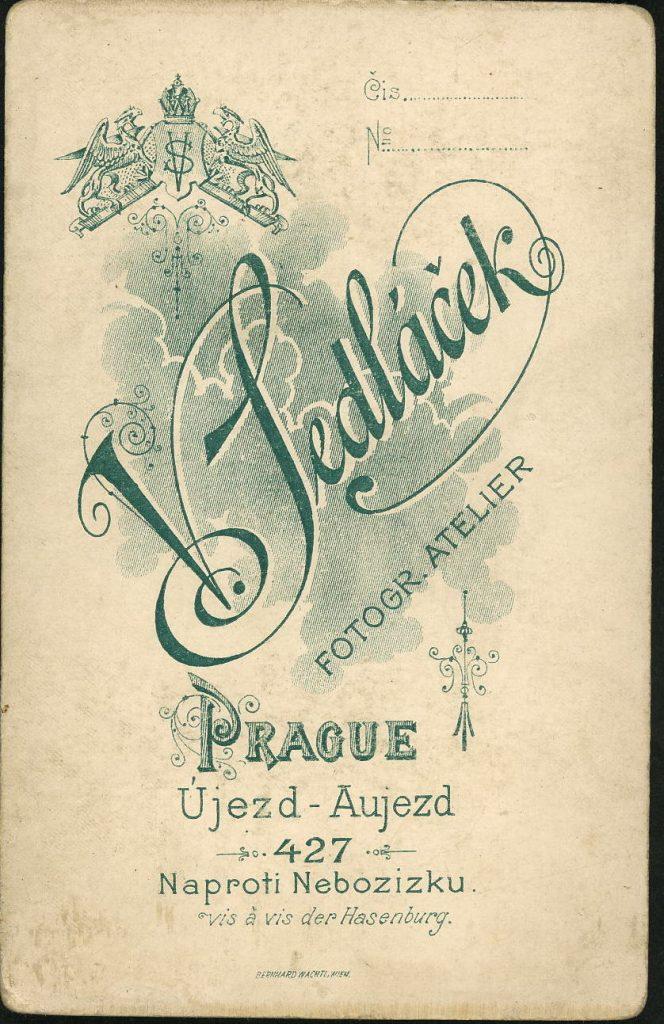 V. Sedláček - Prague