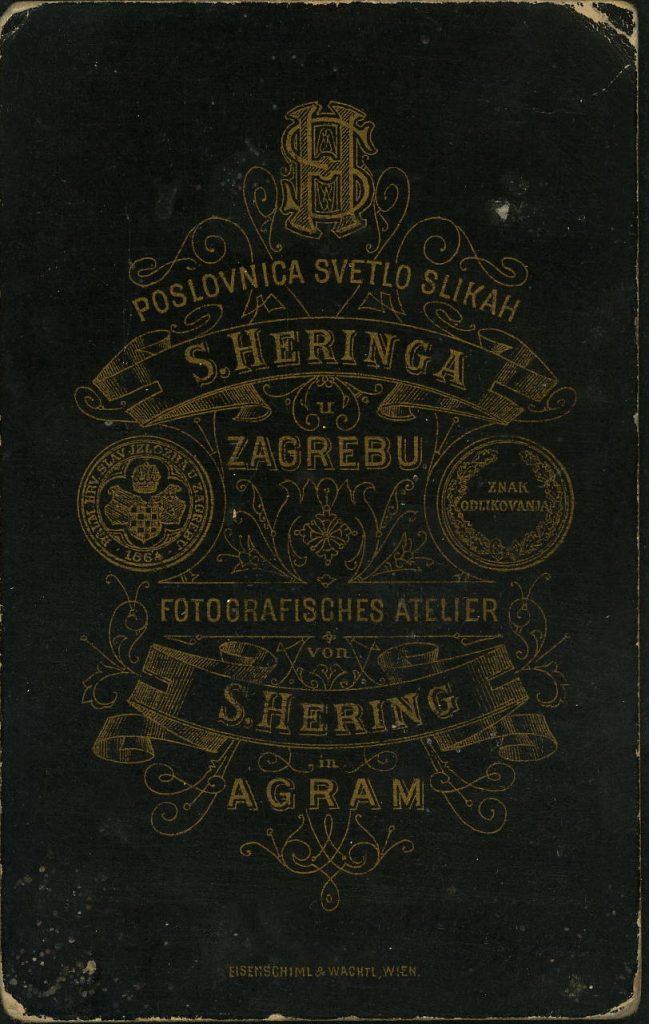 S. Heringa - Zagreb - Agram