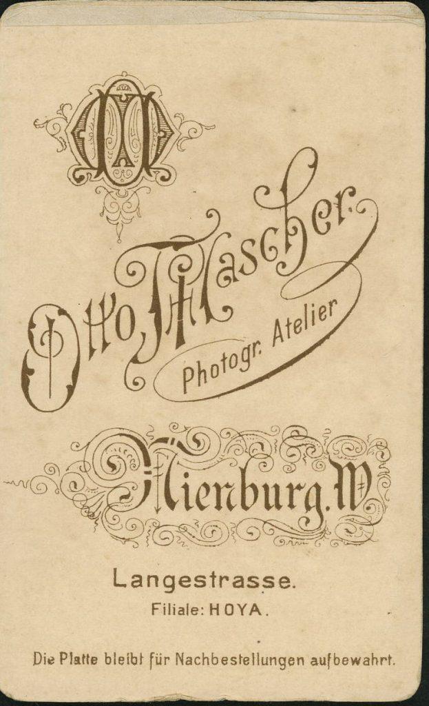 Otto Mascher - Nienburg - Hoya
