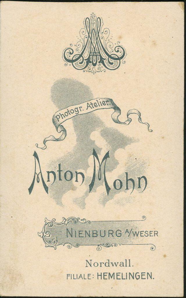 Anton Mohn - Nienburg - Hemelingen