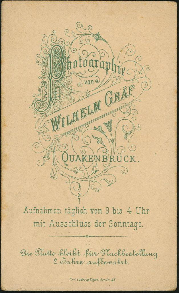 Wilhelm Gräf - Quakenbrück