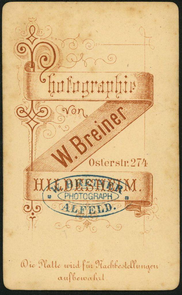 W. Breiner - Hildesheim - Alfeld