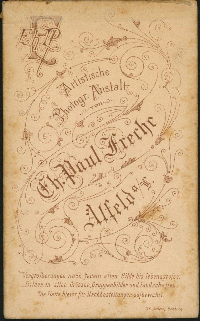 Eh. Paul Freche - Alfeld a.L.