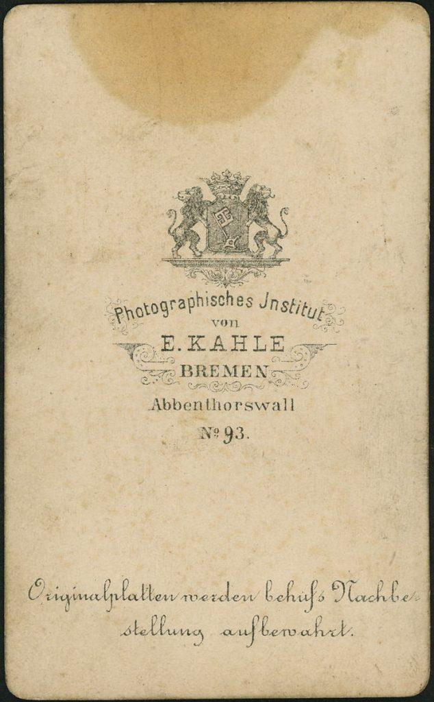 E. Kahle - Bremen