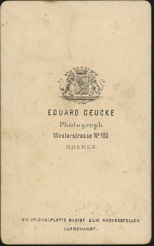 Eduard Geucke - Bremen