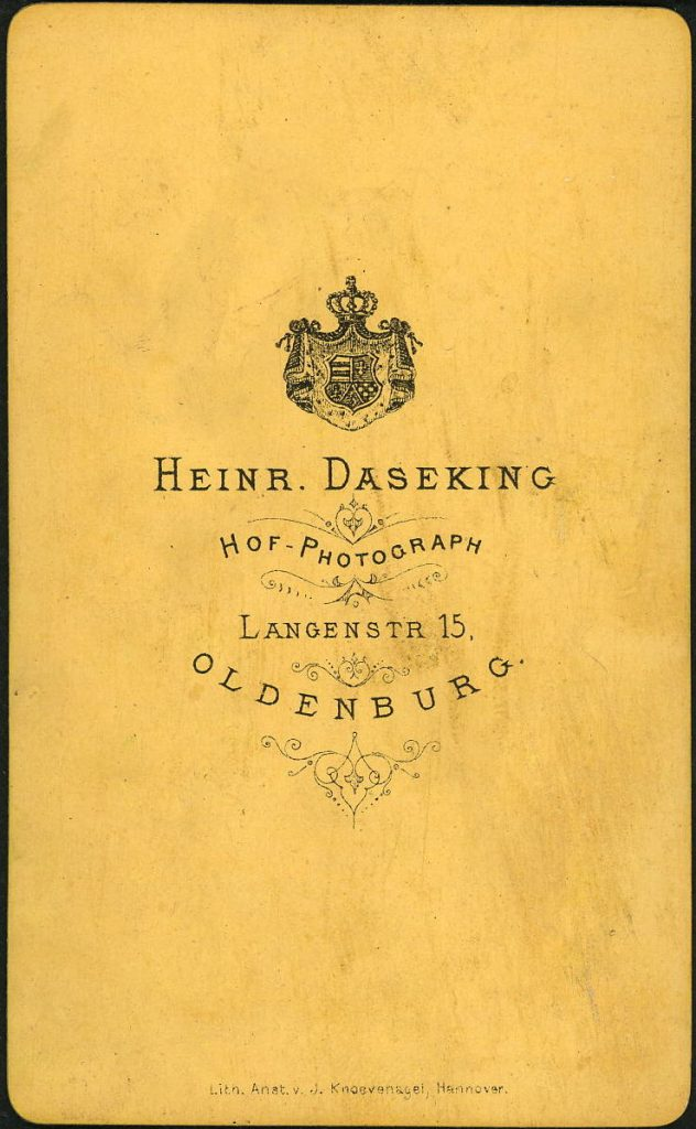 Heinr. Daseking - Oldenburg
