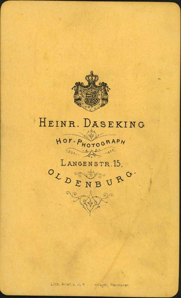Heinr. Daseking - Oldenburg