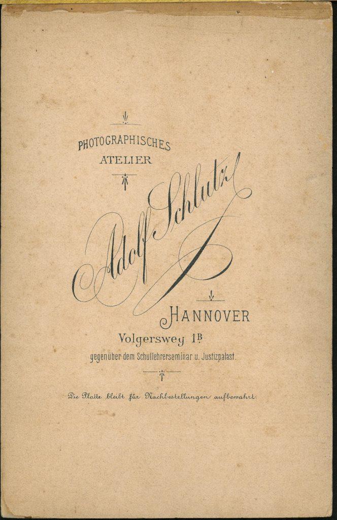 Adolf Schlutz - Hannover