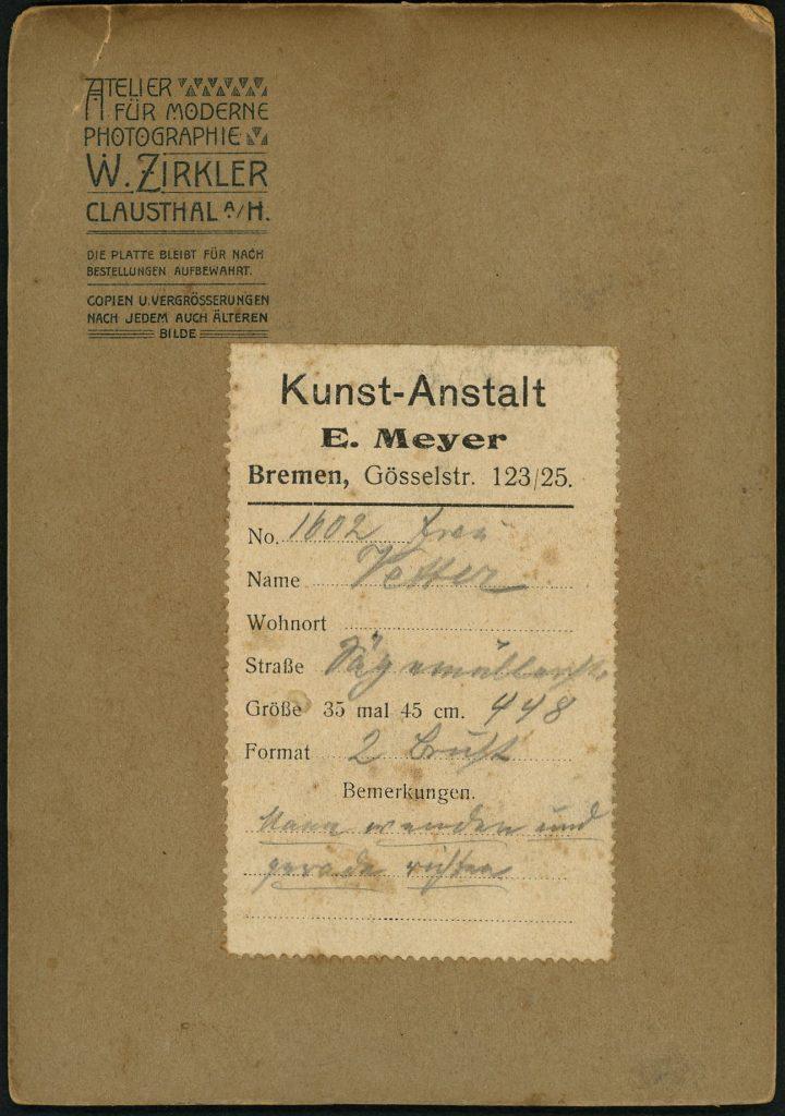 W. Zirkler - Clausthal a.H.