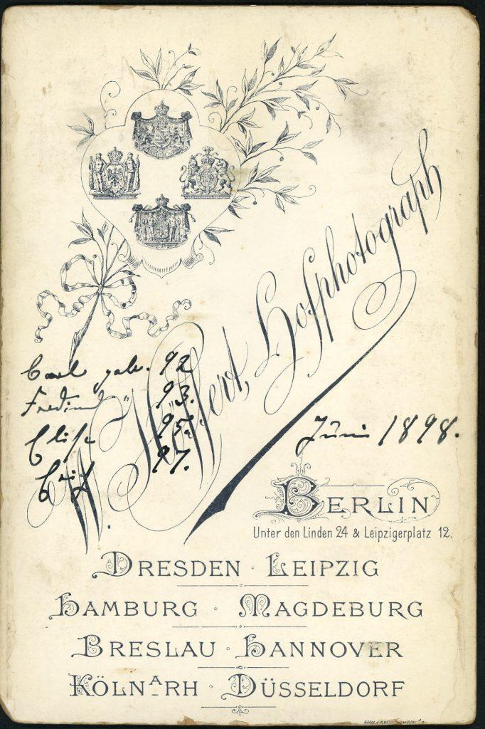 W. Höffert - Berlin - Dresden - Leipzig - Hamburg - Magdeburg - Breslau - Hannover - Köln - Düsseldorf