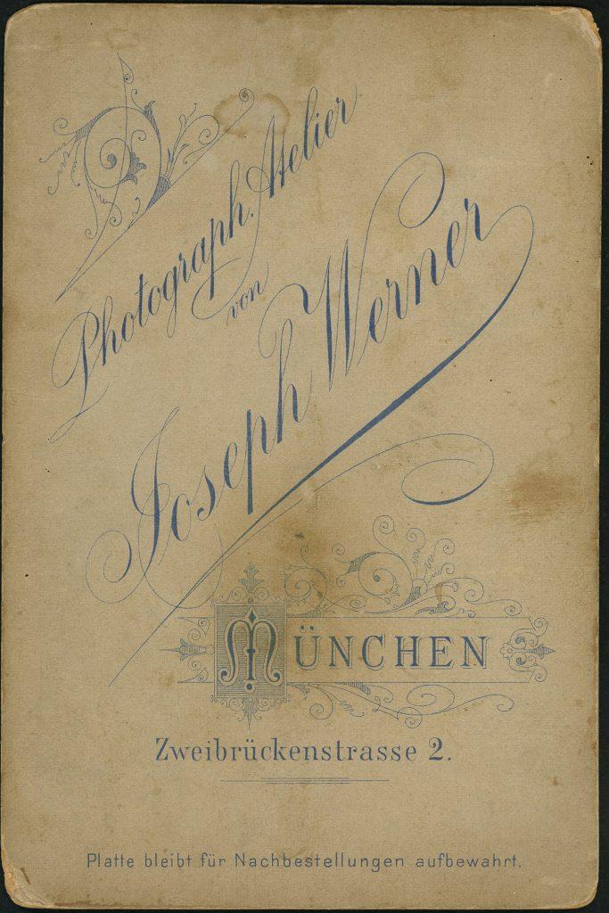 Joseph Werner - München