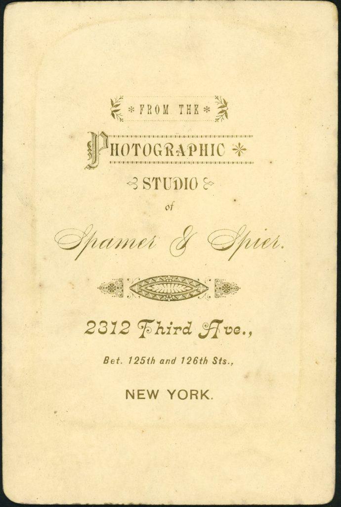 Spamer - Spier - New York