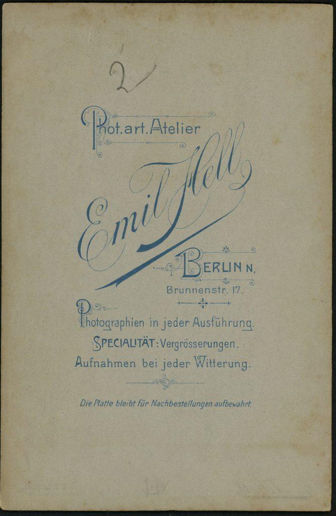 Emil Hell - Berlin