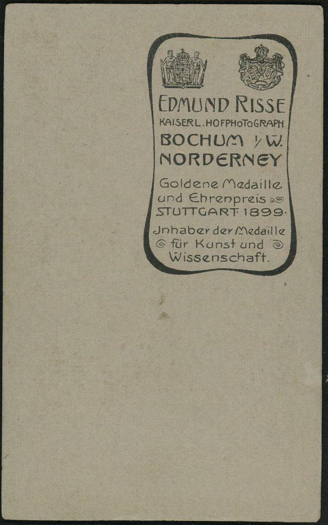 Edmund Risse - Bochum i.W. - Norderney
