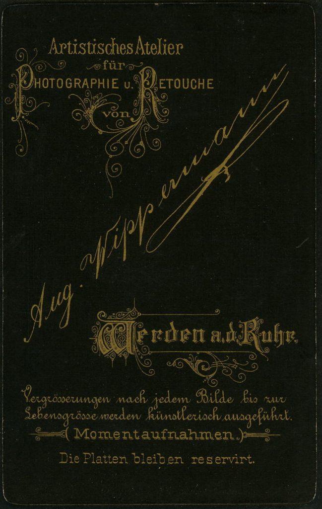 Aug. Wippermann - Werden a.R.