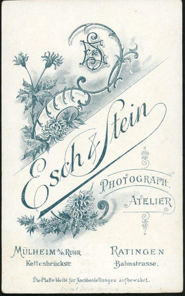 Esch - Stein - Mülheim a.R. - Ratingen
