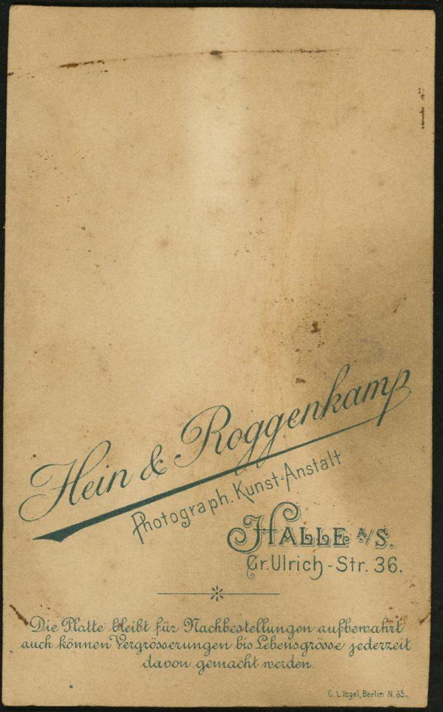 Hein - Roggenkamp - Halle