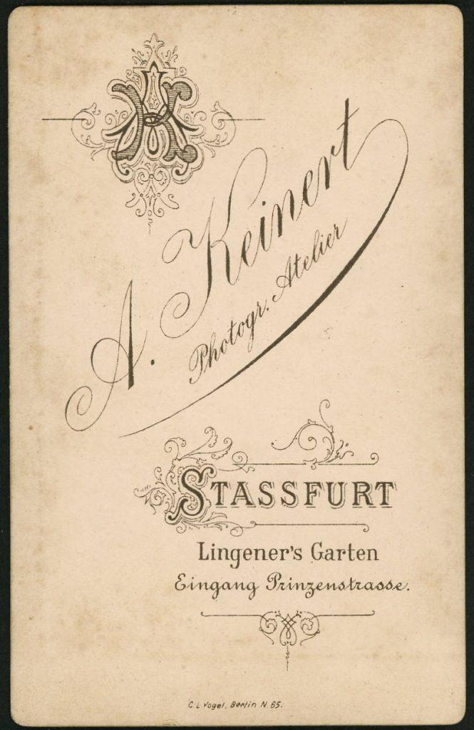 A. Keinert - Stassfurt
