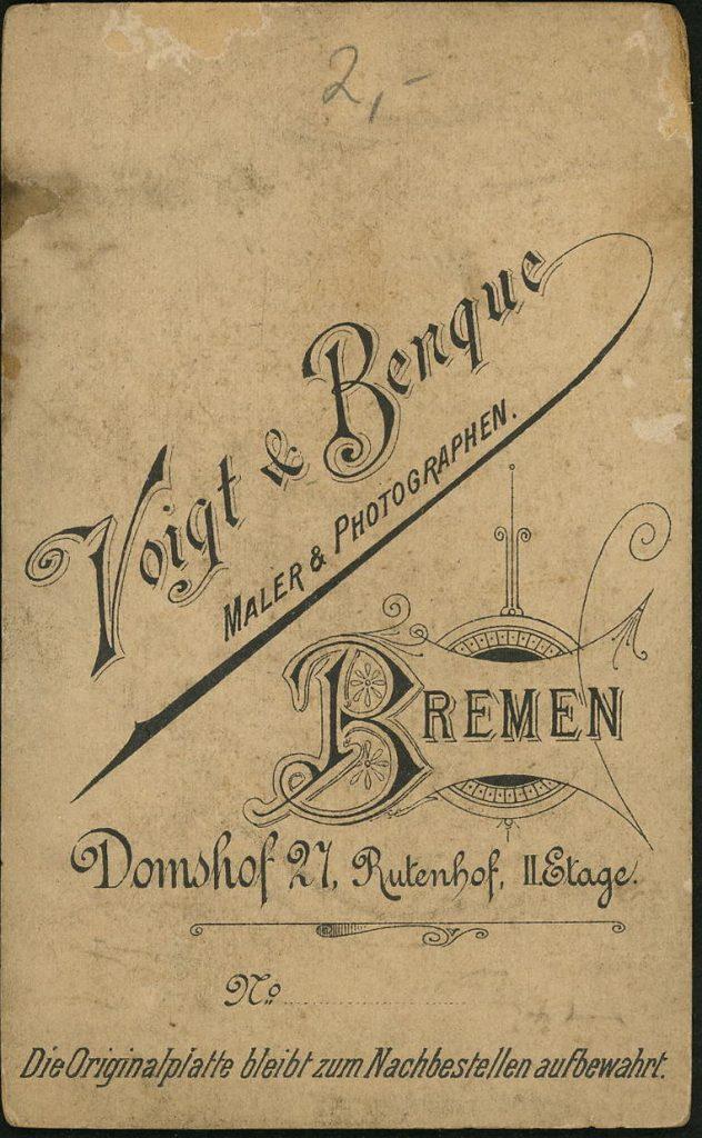 Voigt - Benque - Bremen