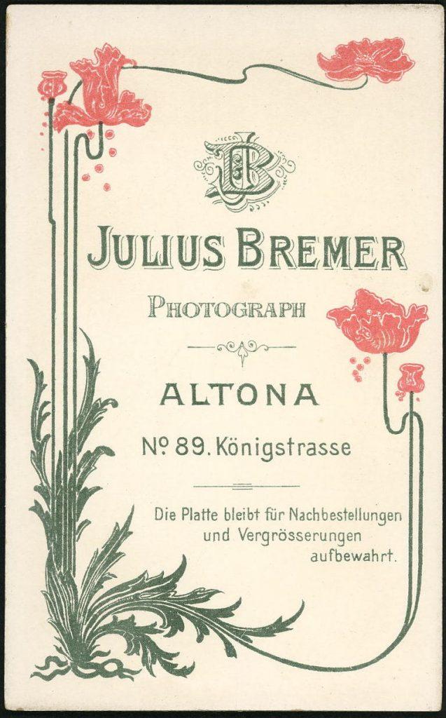 Julius Bremer - Altona