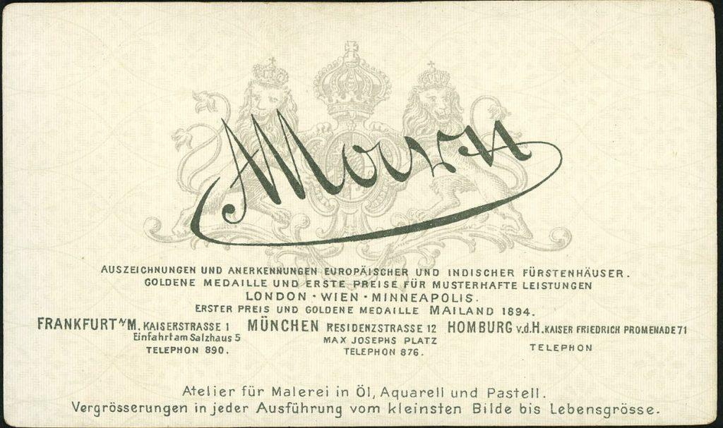 A. Marx - Frankfurt - München - Homburg
