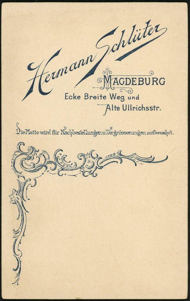 Hermann Schlüter - Magdeburg