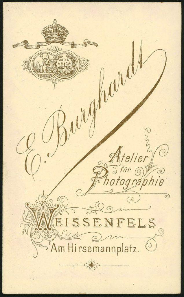 E. Burghardt - Weissenfels