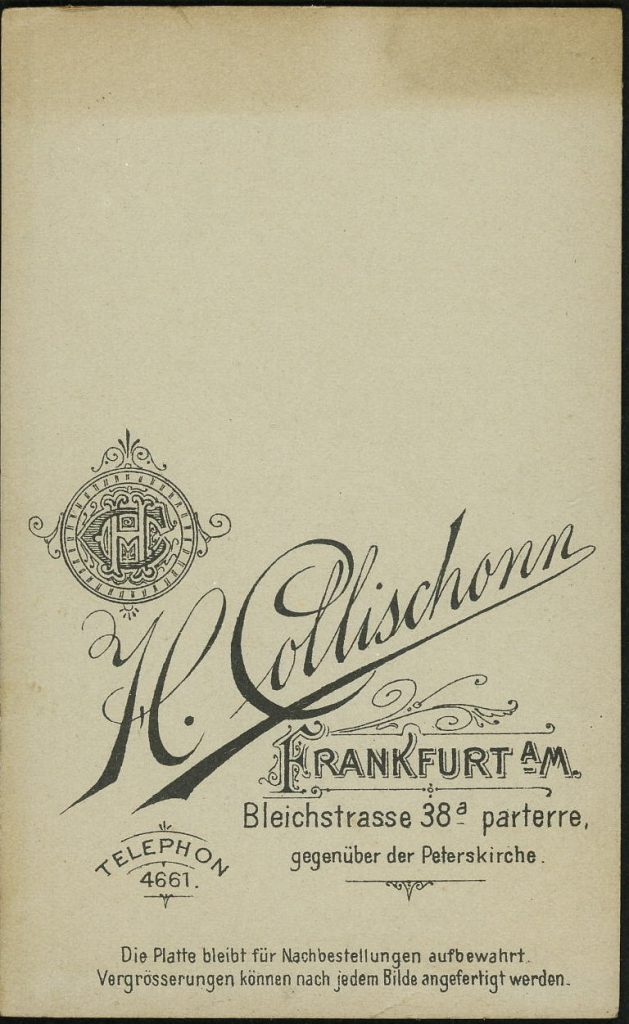 H. Collischonn - Frankfurt