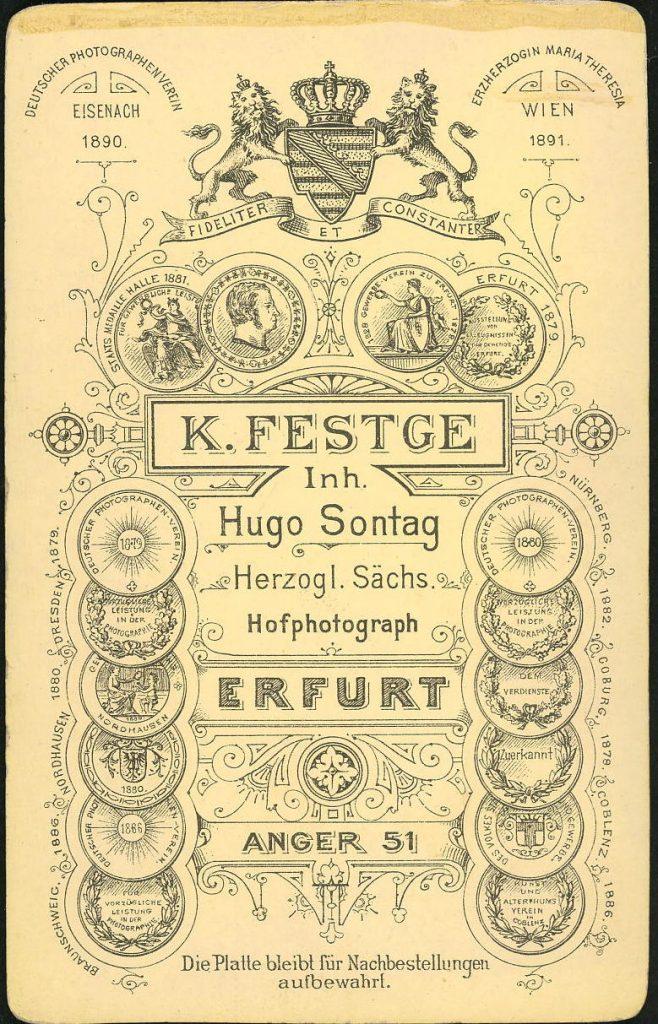 K. Festge - Erfurt