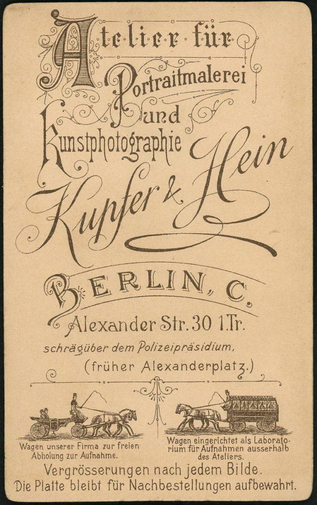 Kupfer - Hein - Berlin