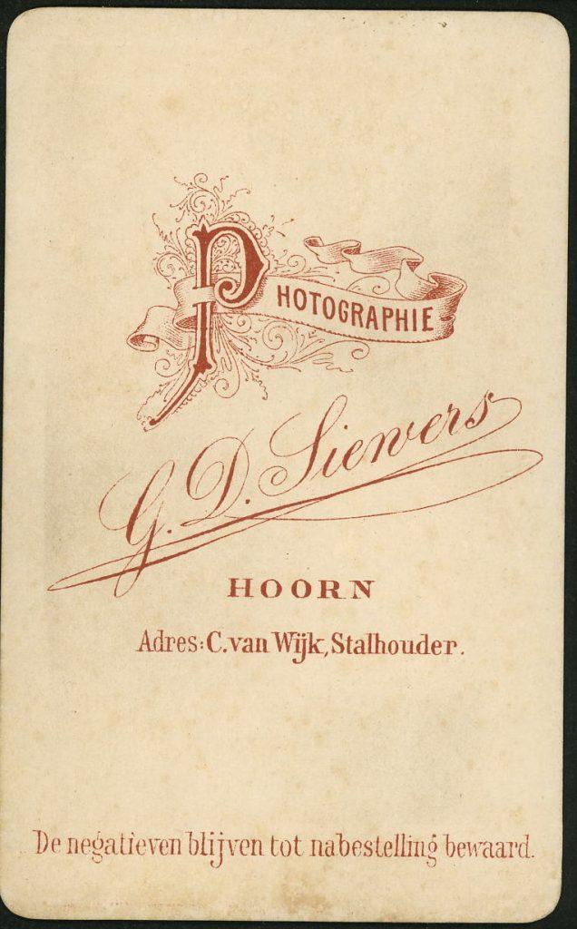 G. D. Siewers - Hoorn