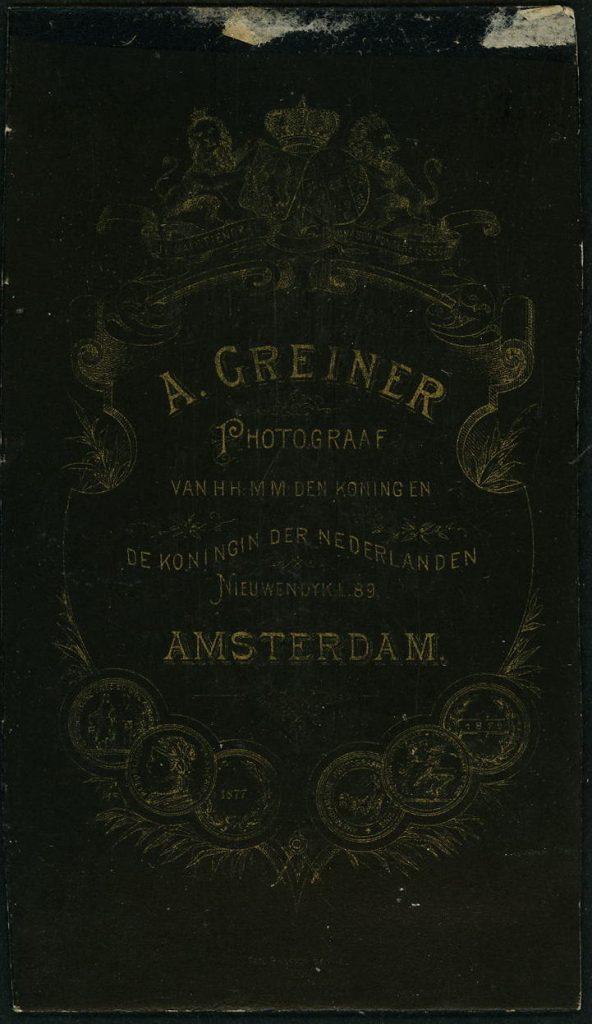 A. Greiner - Amsterdam