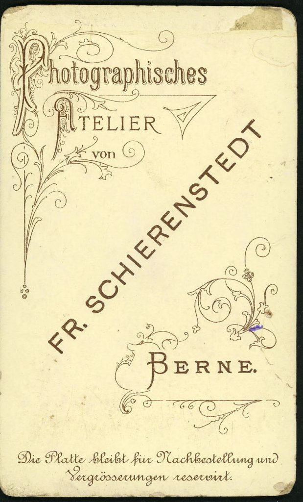 Fr. Schierenstedt - Berne