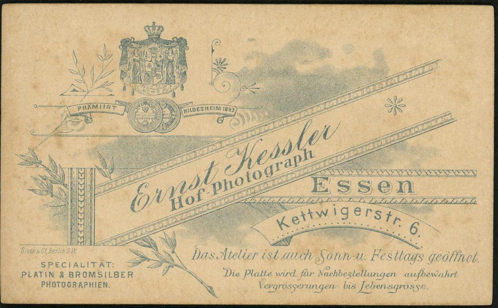 Ernst Kessler - Essen