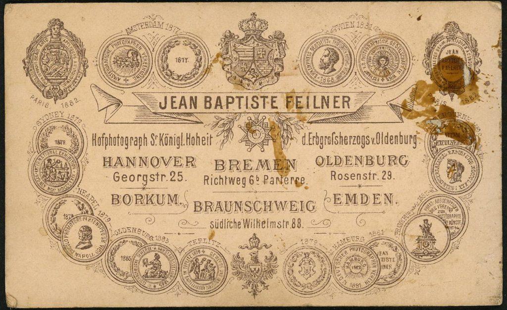 Jean Baptiste Feilner - Bremen - Hannover - Oldenburg - Borkum - Braunschweig - Emden