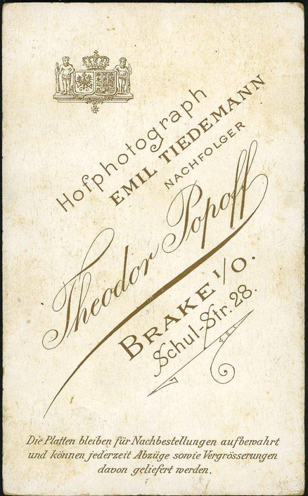 Theodor Popoff - Brake