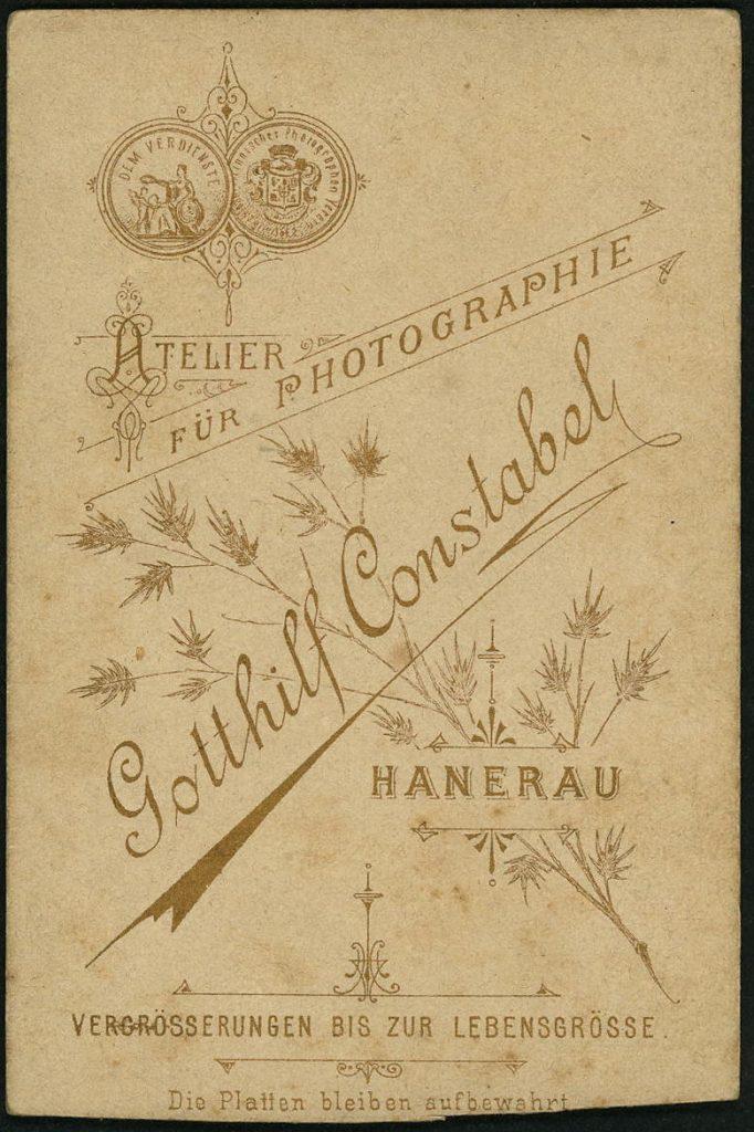 Gotthilf Constabel - Hanerau
