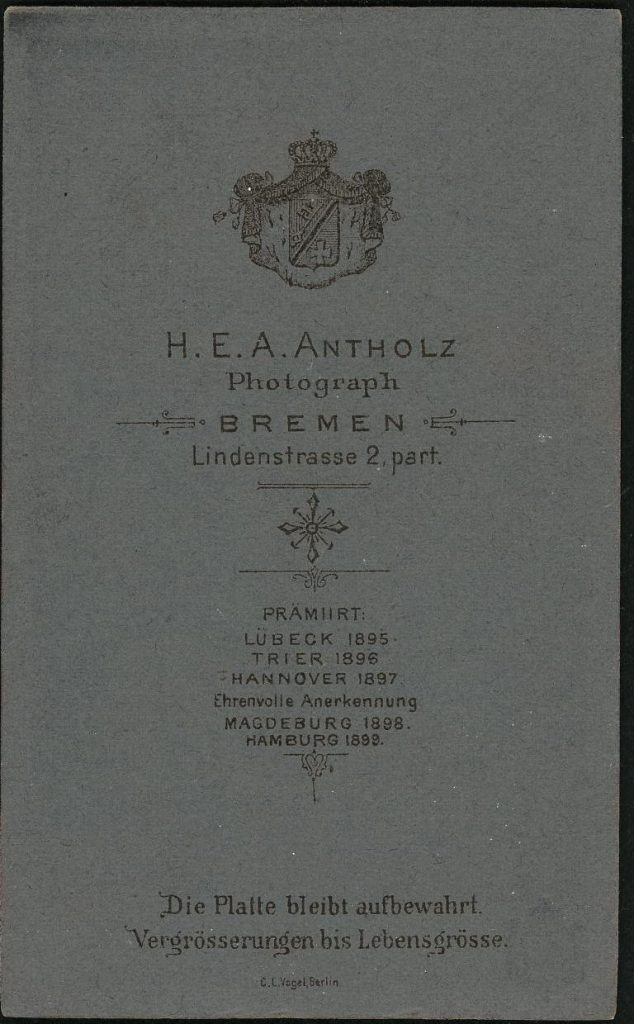 H. E. A. Antholz - Bremen