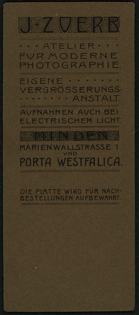 J. Zoerb - Minden - Porta Westfalica
