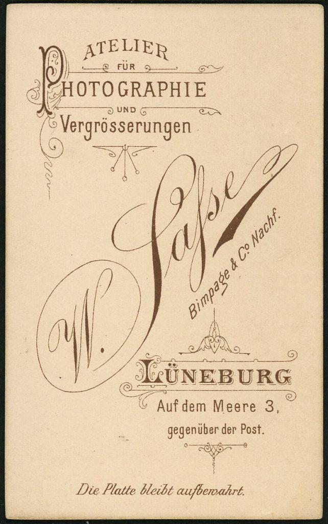 W. Sasse - Bimpage - Lüneburg