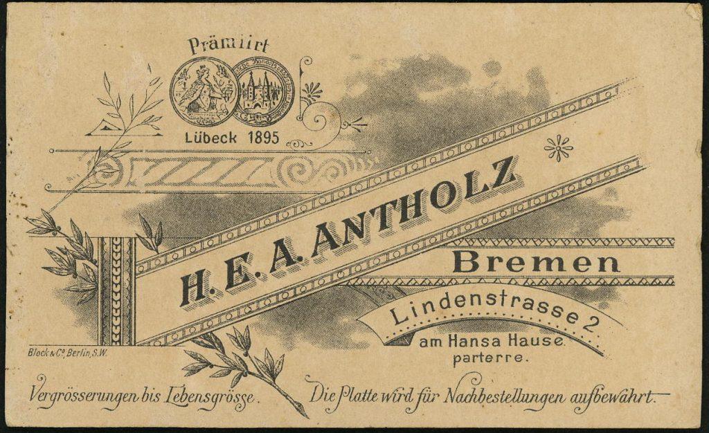 H. E. A. Antholz - Bremen