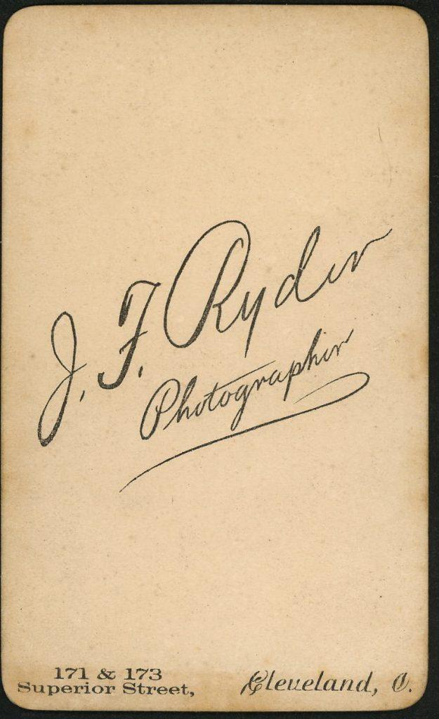 J. F. Ryder - Cleveland