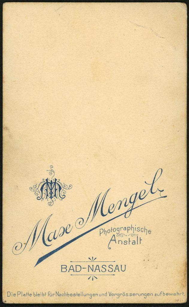 Max Mengel - Bad-Nassau